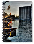 006 Uss Niagara 1813 Series Spiral Notebook