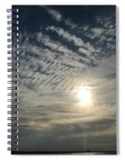 006 When Feeling Down  Pick Your Head Up To The Skies Series Spiral Notebook