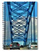 007 Grand Island Bridge Series  Spiral Notebook