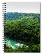 007 Niagara Gorge Trail Series  Spiral Notebook