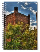 007 The 74th Regimental Armory In Buffalo New York Spiral Notebook