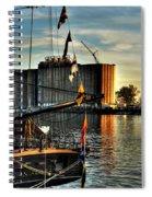 007 Uss Niagara 1813 Series Spiral Notebook