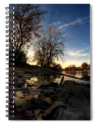 008 Autumn At Tifft Nature Preserve Series  Spiral Notebook