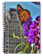 008 Making Things New Via The Butterfly Series Spiral Notebook