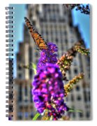 009 Making Things New Via The Butterfly Series Spiral Notebook