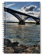 009  Peace Bridge Series II Beautiful Skies Spiral Notebook