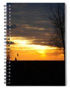 01 Sunset Spiral Notebook