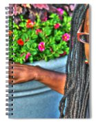 01 The Lioness Spiral Notebook