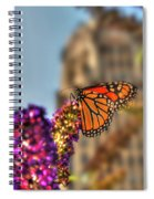 010 Making Things New Via The Butterfly Series Spiral Notebook