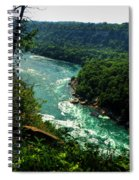 011 Niagara Gorge Trail Series  Spiral Notebook