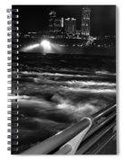 012 Niagara Falls Usa Rapids Series Spiral Notebook