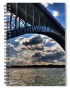 012  Peace Bridge Series II Beautiful Skies Spiral Notebook