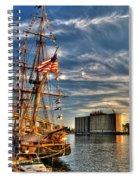 012 Uss Niagara 1813 Series Spiral Notebook