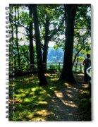 012b Niagara Gorge Trail Series  Spiral Notebook