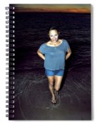 013 A Sunset With Eyes That Smile Soothing Sounds Of Waves For Miles Portrait Series Spiral Notebook