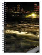 013 Niagara Falls Usa Rapids Series Spiral Notebook