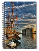 013 Uss Niagara 1813 Series Spiral Notebook