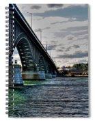 014 Peace Bridge Series II Beautiful Skies Spiral Notebook
