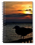 015 Sunset Series Spiral Notebook