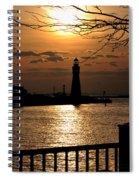 016 Sunset Series Spiral Notebook