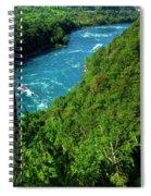 017 Niagara Gorge Trail Series  Spiral Notebook