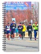 017 Shamrock Run Series Spiral Notebook