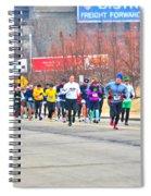 018 Shamrock Run Series Spiral Notebook