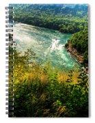019 Niagara Gorge Trail Series  Spiral Notebook