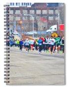 019 Shamrock Run Series Spiral Notebook