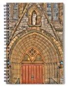 02 Church Doors Spiral Notebook