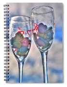 02 Love Is In The Air Spiral Notebook