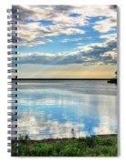 02 Reflecting Spiral Notebook