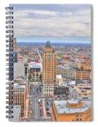 02 Series Of Buffalo Ny Via Birds Eye East Side Spiral Notebook