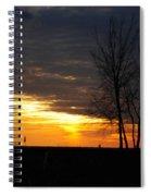 02 Sunset Spiral Notebook