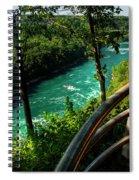 020 Niagara Gorge Trail Series  Spiral Notebook