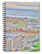 020 Series Of Buffalo Ny Via Birds Eye Adams Mark Spiral Notebook