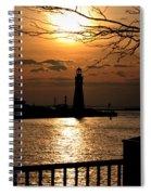 020 Sunset Series Spiral Notebook