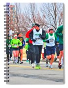 021 Shamrock Run Series Spiral Notebook