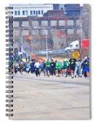 025 Shamrock Run Series Spiral Notebook