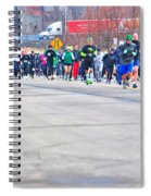 026 Shamrock Run Series Spiral Notebook