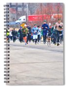 027 Shamrock Run Series Spiral Notebook