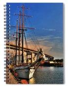 028 Empire Sandy Series  Spiral Notebook