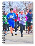 029 Shamrock Run Series Spiral Notebook