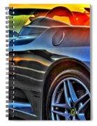 03 Ferrari Sunset Spiral Notebook