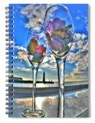 03 Love Is In The Air Spiral Notebook