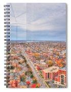 031 Series Of Buffalo Ny Via Birds Eye West Side Spiral Notebook