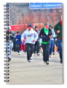 032 Shamrock Run Series Spiral Notebook