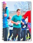 034 Shamrock Run Series Spiral Notebook