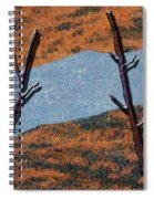 0361 Abstract Landscape Spiral Notebook