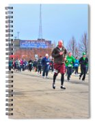 037 Shamrock Run Series Spiral Notebook